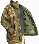1101  Bilaminaat jas natweer NL leger parka (nieuw) 8080 / 0510