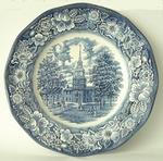 3039  Liberty Blue Wandbord 23 cm